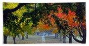 Autumn Canopy Beach Sheet
