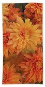 Autumn Garden Impressions Beach Towel