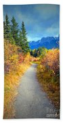 Autumn In Canada Beach Towel