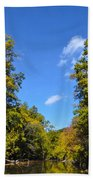 Autumn In Pennsylvania Beach Towel