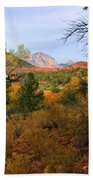 Autumn In Red Rock Canyon Beach Towel