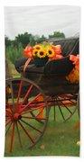 Autumn Joy Beach Towel