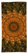 Autumn Mandala 1 Beach Towel