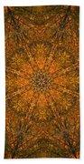 Autumn Mandala 2 Beach Towel