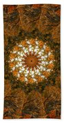 Autumn Mandala 4 Beach Towel