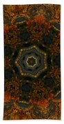 Autumn Mandala 5 Beach Towel