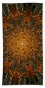 Autumn Mandala 6 Beach Towel