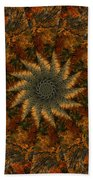 Autumn Mandala 7 Beach Towel
