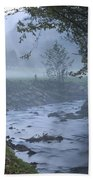 Autumn Mist Beach Towel