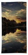 Autumn Sunset 2 Beach Sheet
