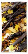 Autumnal Melody Beach Towel