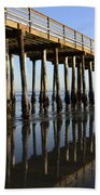 Avila Beach Pier California 2 Beach Towel