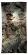 Awaken Your Mind Beach Towel by Linda Sannuti