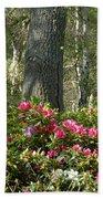 Azalea Woods Beach Towel