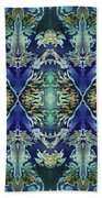 Azuraz Candle Tiled Beach Towel