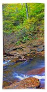 B Reynolds Falls Panorama Beach Towel