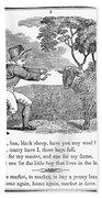 Baa, Baa, Black Sheep, 1833 Beach Towel