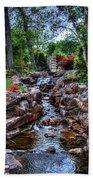 Babbling Brook Beach Towel