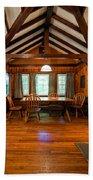 Babcock Cabin Interior 2 Beach Sheet