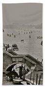 Back Door Of Venice Beach Towel