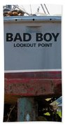 Bad Boy 0118 Beach Towel