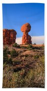 Balance Rock I Beach Towel