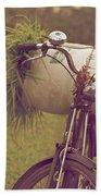 Bali Bike Beach Towel