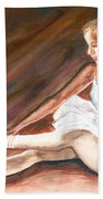 Ballet Dancer Beach Towel