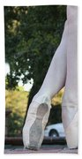 Ballet Legs Beach Towel
