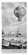 Balloon Flight, 1783 Beach Towel