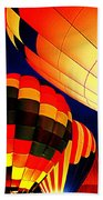 Balloon Glow 1 Beach Towel