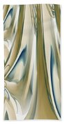 Ballroom Gown Beach Towel