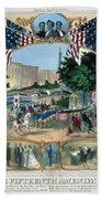 Baltimore: 15th Amendment Beach Towel