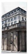 Bank Of England Beach Towel