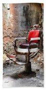 Barber Chair Beach Towel