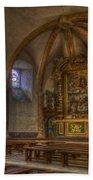 Baroque Church In Savoire France 3 Beach Towel