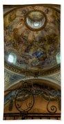 Baroque Church In Savoire France 5 Beach Towel