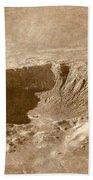 Barringer Crater Beach Towel