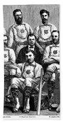 Baseball: Canada, 1874 Beach Towel