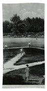 Baseball In 1846 Beach Towel by Omikron