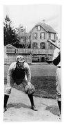 Baseball: Princeton, 1901 Beach Towel