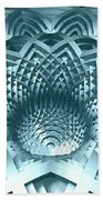 Basket Of Hyperbolae 02 Beach Towel