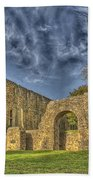 Battle Abbey Ruins Beach Towel