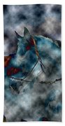 Battle Cloud - Horse Of War Beach Towel