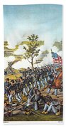 Battle Of Atlanta, 1864 Beach Towel