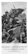 Battle Of Churubusco, 1847 Beach Towel