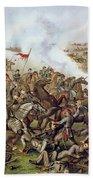 Battle Of Five Forks Virginia 1st April 1865 Beach Towel by American School