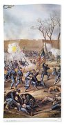Battle Of Fort Donelson Beach Towel