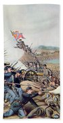 Battle Of Franklin November 30th 1864 Beach Towel