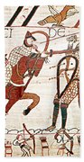 Battle Of Hastings Bayeux Tapestry Beach Towel